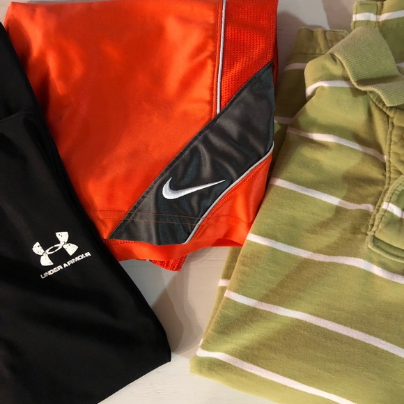 Diplomático Joven panel  Nike Bottoms   Abercrombie And Under Armour Defect Box   Poshmark